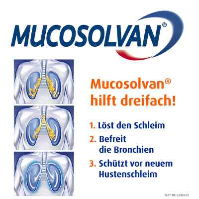 Mucosolvan Filmtabletten 60mg leicht schluckbar bei Husten  bei juvalis.de bestellen