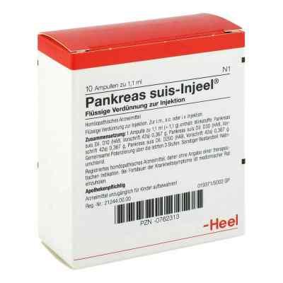 Pankreas Suis Injeel Ampullen  bei juvalis.de bestellen
