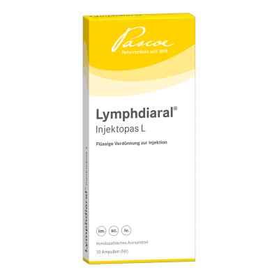 Lymphdiaral Injektopas L Ampullen  bei juvalis.de bestellen