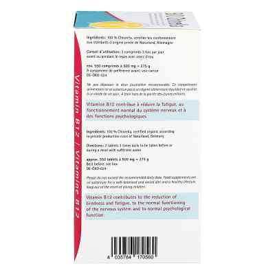 Chlorella 500 mg Bio Naturland Tabletten  bei juvalis.de bestellen