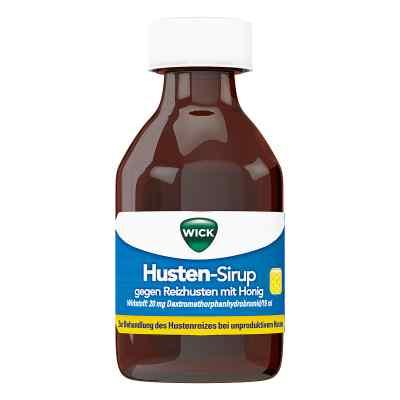 WICK Husten-Sirup gegen Reizhusten mit Honig  bei juvalis.de bestellen