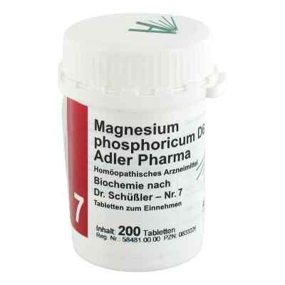 Biochemie Adler 7 Magnesium phosphoricum D 6 Adl.p. Tabletten   bei juvalis.de bestellen