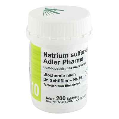 Biochemie Adler 10 Natrium sulf.D6 Adl.ph. Tabletten  bei juvalis.de bestellen