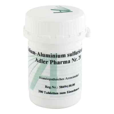 Biochemie Adler 20 Kalium alum.sulf.D12 Tabletten  bei juvalis.de bestellen