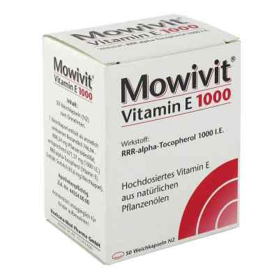 Mowivit Vitamin E 1000 Kapseln  bei juvalis.de bestellen