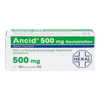 ANCID 500mg  bei juvalis.de bestellen