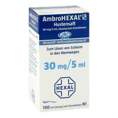 AmbroHEXAL S Hustensaft 30mg/5ml  bei juvalis.de bestellen