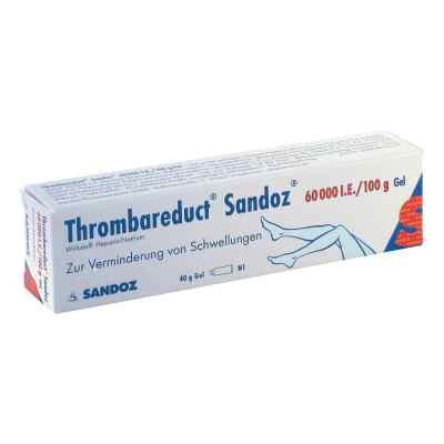 Thrombareduct Sandoz Gel 60000 I.E./100g  bei juvalis.de bestellen