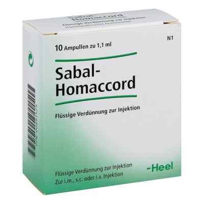 Sabal Homaccord Ampullen  bei juvalis.de bestellen