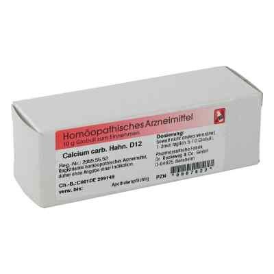 Calcium Carbonicum Hahnemanni D 12 Globuli  bei juvalis.de bestellen