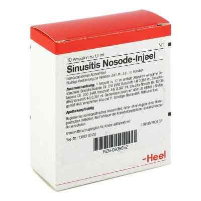 Sinusitis Nosode Injeel Ampullen  bei juvalis.de bestellen