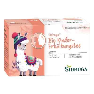 SIDROGA Bio Kinder-Erkältungstee  bei juvalis.de bestellen