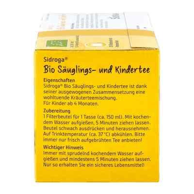 Sidroga Bio Säuglings- und Kindertee Filterbeutel  bei juvalis.de bestellen