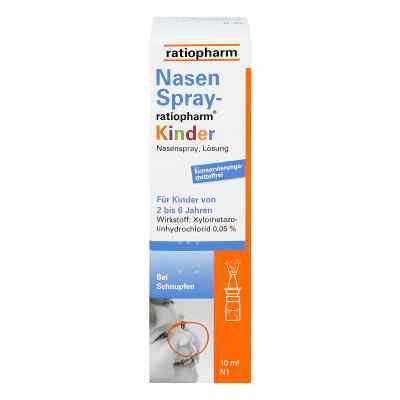 NasenSpray-ratiopharm Kinder  bei juvalis.de bestellen