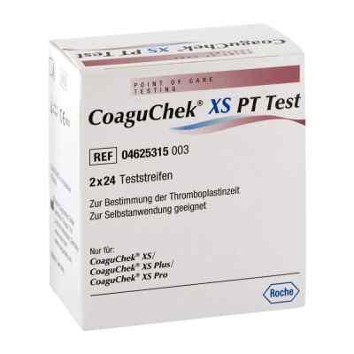 Coaguchek Xs Pt Test  bei juvalis.de bestellen
