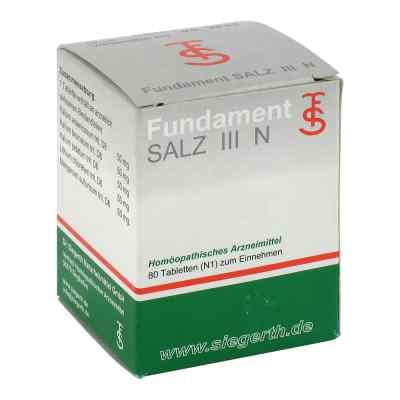 Fundament Salz Iii N Tabletten  bei juvalis.de bestellen