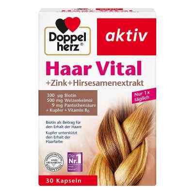 Doppelherz Haar Vital+zink+hirseextrakt Kapseln  bei juvalis.de bestellen