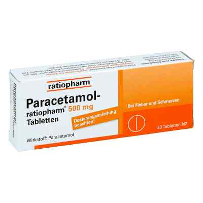 Paracetamol-ratiopharm 500mg  bei juvalis.de bestellen