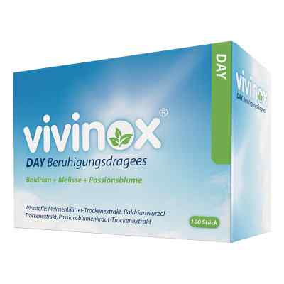Vivinox Day Beruhigungsdragees Baldrian+Melisse+Passionsbl.  bei juvalis.de bestellen