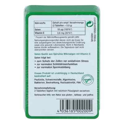 Spiruselen Selen Spirulina Tabletten  bei juvalis.de bestellen