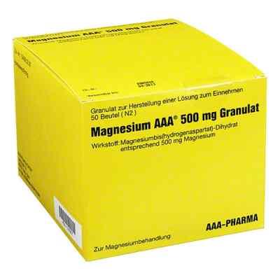 Magnesium Aaa 500 mg Granulat  bei juvalis.de bestellen