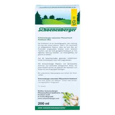 Knoblauch Naturreiner Pflanzentr.schoenenberger  bei juvalis.de bestellen