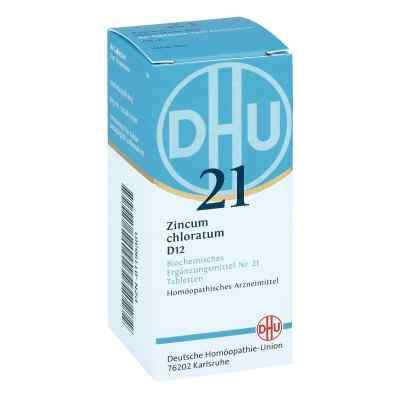 Biochemie Dhu 21 Zincum chloratum D12 Tabletten  bei juvalis.de bestellen