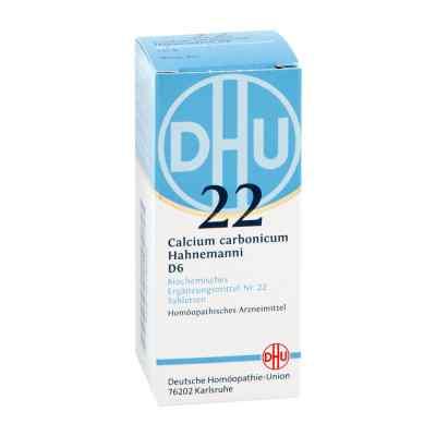 Biochemie Dhu 22 Calcium carbonicum D6 Tabletten  bei juvalis.de bestellen
