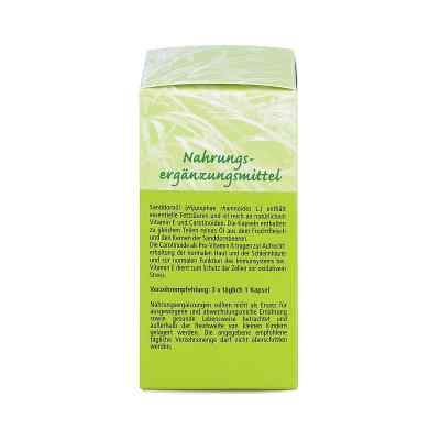 Sanddornöl Kapseln 500 mg  bei juvalis.de bestellen