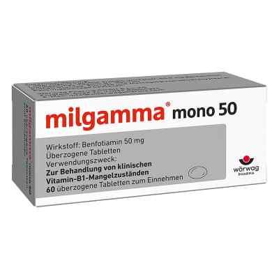 Milgamma mono 50 überzogene Tabletten  bei juvalis.de bestellen