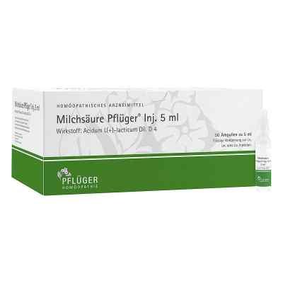 Milchsäure Pflüger Injektionslösung 5 ml  bei juvalis.de bestellen