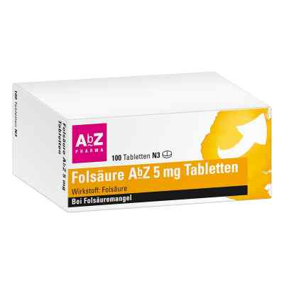 Folsäure Abz 5 mg Tabletten  bei juvalis.de bestellen