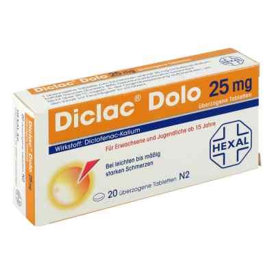 Diclac Dolo 25mg  bei juvalis.de bestellen