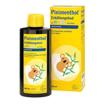 Pinimenthol Erkältungsbad für Kinder ab 2 Jahren Eucalyptus  bei juvalis.de bestellen