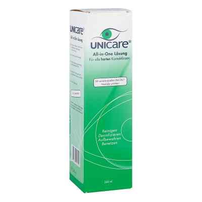 Unicare All in One für harte Linsen Lösung  bei juvalis.de bestellen