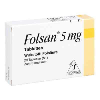 Folsan 5 mg Tabletten  bei juvalis.de bestellen