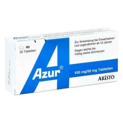 Azur 450mg Paracetamol/50mg Coffein  bei juvalis.de bestellen