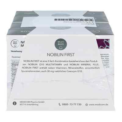 Nobilin First Kombipackung Kapseln  bei juvalis.de bestellen