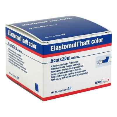 Elastomull haft color 20mx6cm blau Fixierbinde   bei juvalis.de bestellen