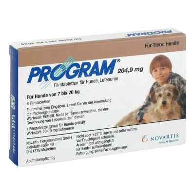 Program Tabletten für hunde 204,9mg 7-20kg  bei juvalis.de bestellen
