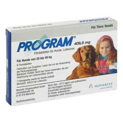 Program Tabletten für hunde 409,8mg 20-40kg  bei juvalis.de bestellen