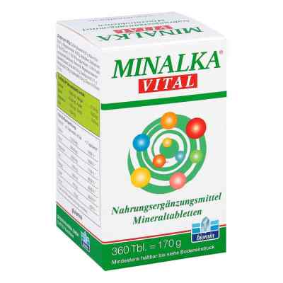 Minalka Tabletten  bei juvalis.de bestellen