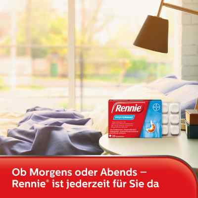 Rennie Pfefferminz gegen Sodbrennen Kautabletten  bei juvalis.de bestellen
