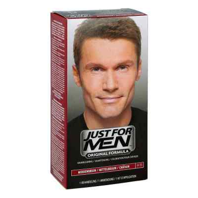 Just for men Tönungsshampoo mittelbraun  bei juvalis.de bestellen