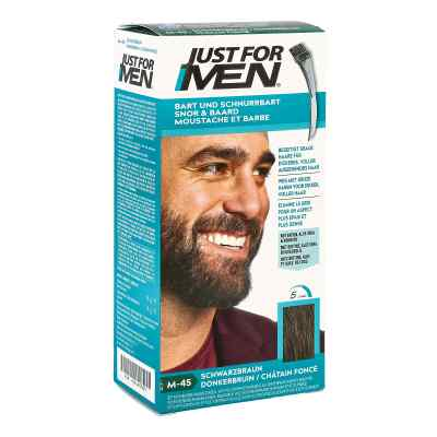 Just for men Brush in Color Gel schwarzbraun  bei juvalis.de bestellen