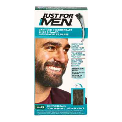 Just for men Brush in Color Gel schwarzbraun  bei juvalis.de bestellen