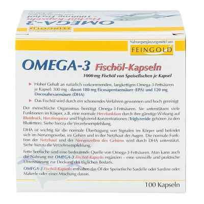 Omega 3 Fischöl-Kapseln  bei juvalis.de bestellen
