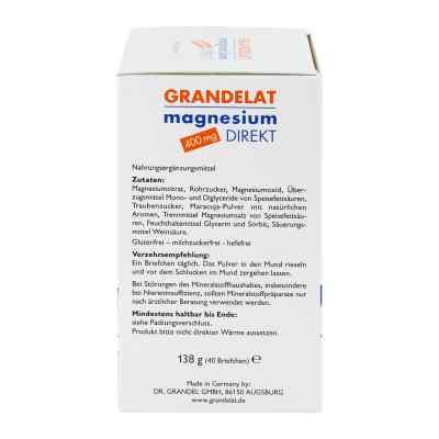 Magnesium Direkt 400 mg Grandelat Pulver  bei juvalis.de bestellen