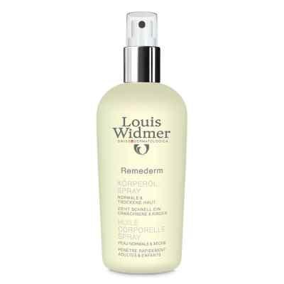 Widmer Remederm Körperöl Spray leicht parfüm.  bei juvalis.de bestellen