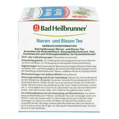 Bad Heilbrunner Nieren- und Blasen Tee  bei juvalis.de bestellen